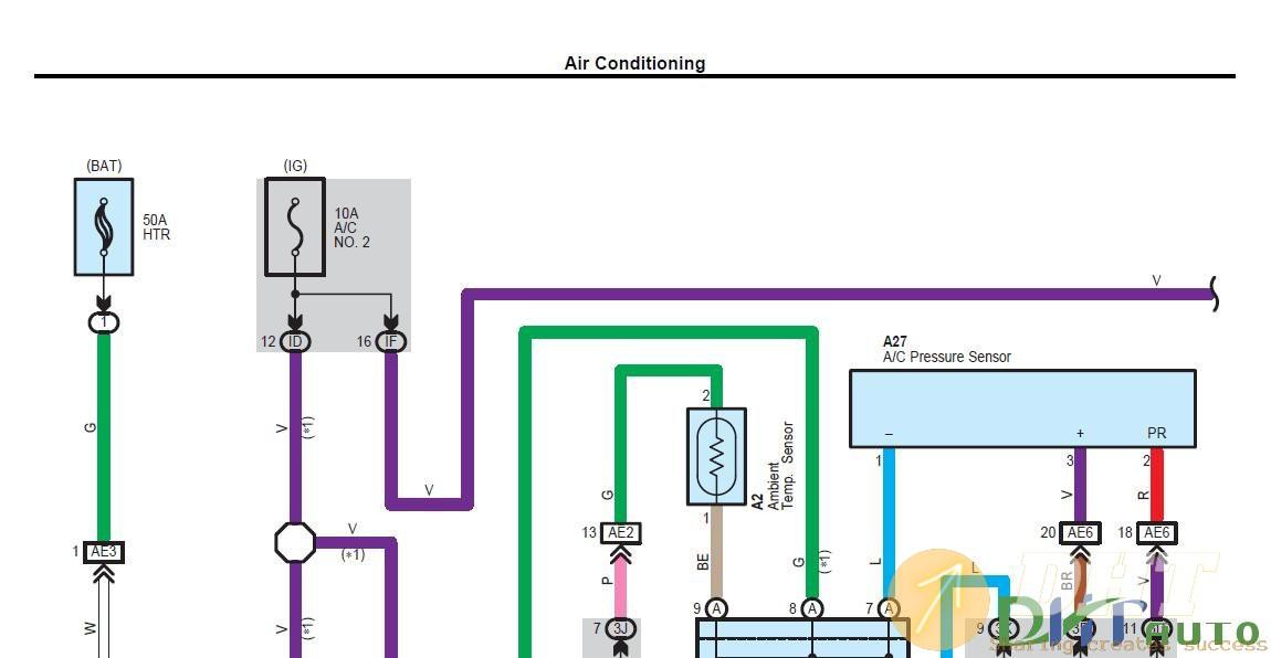 Wiring Diagram - Toyota Camry 2011 Wiring Diagram ...