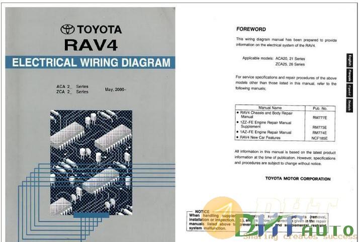 Wiring Diagram  - Toyota Rav4 2000