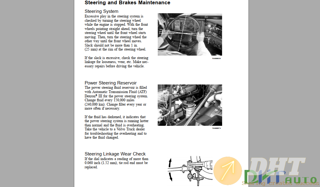 Operations Manual  - Volvo Maintenance And Engine