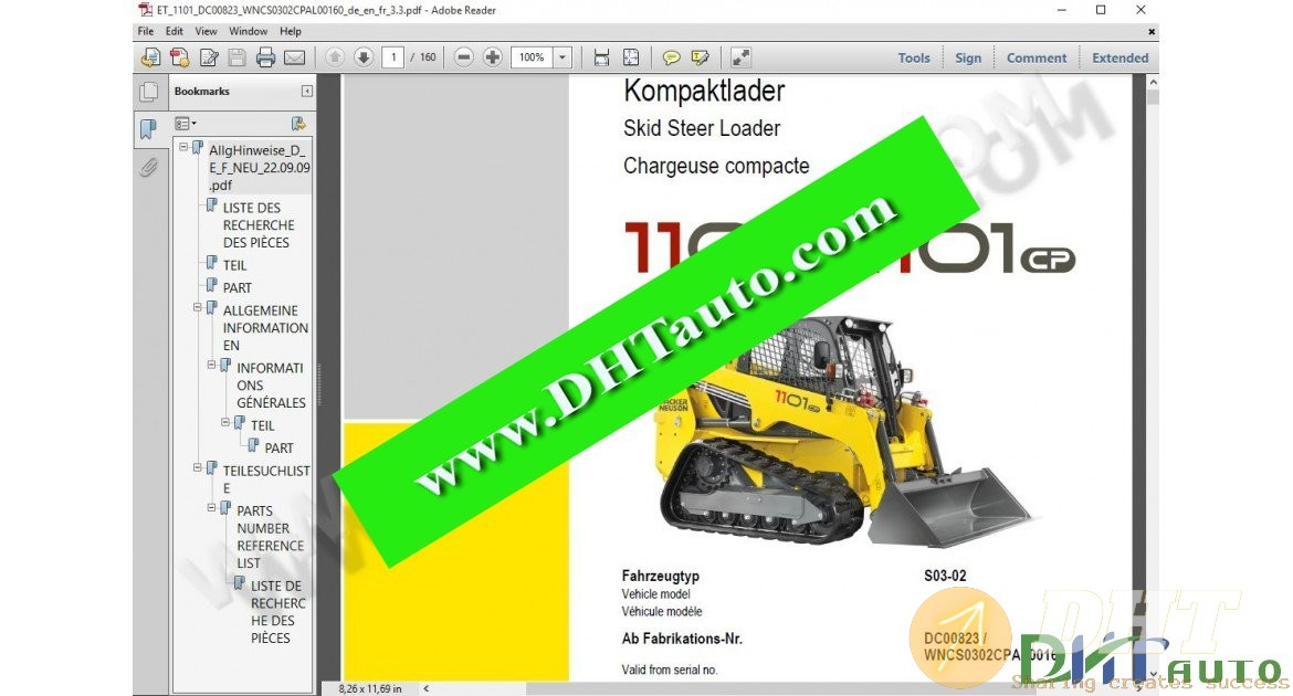 WACKER NEUSON Skid Steer Loaders EPC [11.2015]